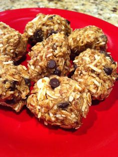 Healthy energy granola balls. No need to bake and so easy to make.