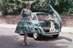 BMW Isetta~I remember my Uncle & Aunt having one of these for their first cars,lol