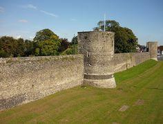 Medieval walls around Canterbury and Dane John, Canterbury, Kent, England | Flickr - Photo Sharing!