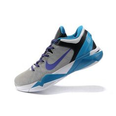 d812c6c80ebb Wholesale Nike Zoom Kobe VII Mens Basketball Shoes - Blue Grey Now only    68.90