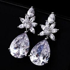 rhinstone earrings