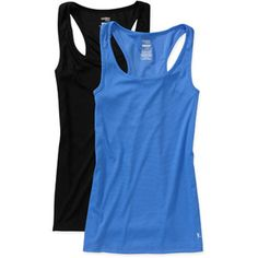 Danskin Now Women's Poly Rib Tanks, 2-Pack; lots of cute colors, 12 bucks for 2