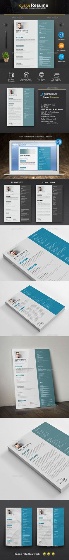 Resume Resume cv, Font logo and Adobe illustrator - resume paper size