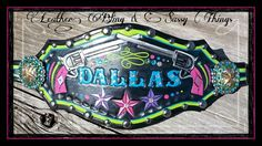 Find me on FB , hand painted bronc nosebands.