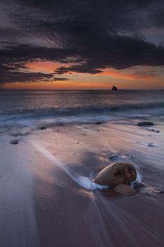 Saltwick Bay by Carl Mickleburgh