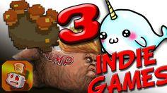 3 FREE INDIE GAMES! - Super Quick Manic Fun!