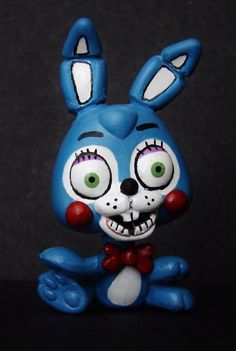 Toy Bonnie FNAF Five Nights at Freddy's LPS OOAK custom figure Littlest pet shop #Hasbro