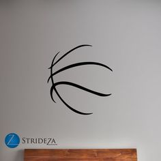 Basketball decor basketball decal basketball by Strideza on Etsy
