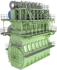 The MAN B&W ME-C is characterised by integrated electronic control, low SFOC, improved emission characteristics, lower NOx on command and much more. Marine Engineering, Diesel Engine, Seas, Valencia, Big Butts