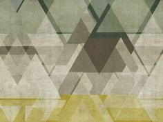 Motif geometric bathroom wallpaper DEFRAG ME WET SYSTEM ™ 13 Collection by Wall