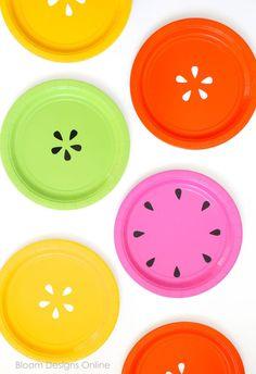 Easy DIY Fruit Plates