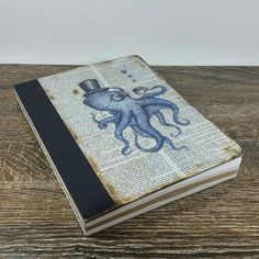 Hey, I found this really awesome Etsy listing at https://www.etsy.com/listing/290258661/custom-octopus-journal-sketch-book