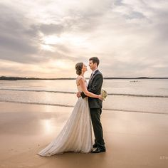 Noosa Beach Wedding. Got Married, Getting Married, Lakeside Garden, Bridal Gowns, Wedding Dresses, Bride Look, Chantilly Lace, Bridal Collection, Most Beautiful