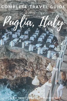 Complete Puglia Travel Guide #puglia #pugliaitaly #italyvacation #pugliatravelguide #pugliaitalybeach #pugliaitalyplacestovisit #pugliaitalytravel #pugliaitalyfood