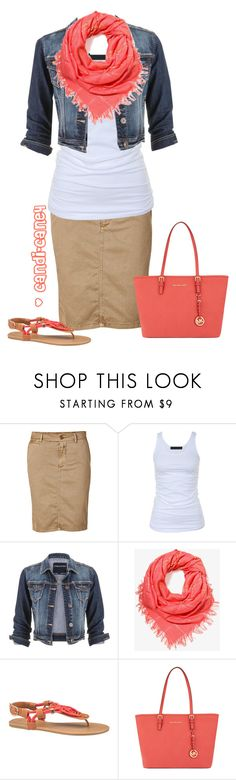 """""""Untitled #201"""" by candi-cane4 ❤ liked on Polyvore featuring Closed, Tusnelda Bloch, maurices, Forever 21 and MICHAEL Michael Kors"""