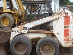 My first bobcat it seems like yesterday and then sometimes it feels like a life time ago 1996