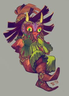 Legend of Zelda and majora's mask Bild The Legend Of Zelda, Legend Of Zelda Breath, Video Game Art, Video Games, Geeks, League Of Legends, Majora Mask, Image Zelda, Shigeru Miyamoto
