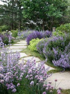 Landscape Lavender Home Design