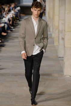 Love the sheen on the blazer, its more subtle in this color (as opposed to black or grey) and looks youthful and interesting