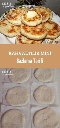 Kahvaltılık Mini Bazlama Tarifi