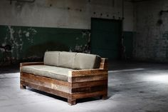 LOVE this idea. We have the antique reclaimed wood in stock!