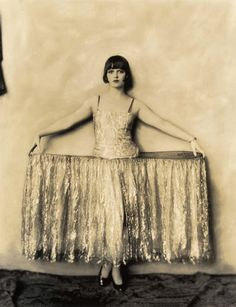 Louise Brooks as the Duchess of Sidebottom in George White's Scandals of 1924