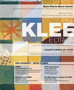 24.11.12: Klee e L'Italia @ Galleria Nazionale d'Arte Moderna