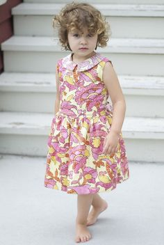 Oliver + S Fairy Tale Dress - View B | Flickr - Photo Sharing!...this little girl makes the dress beautiful