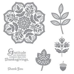 ** Day of Gratitude Stamp Set - by Stampin' Up!