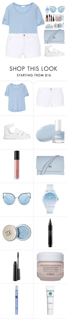 """""""Cloudy."""" by krys-imvu ❤ liked on Polyvore featuring Splendid, STELLA McCARTNEY, Dr. Martens, Bare Escentuals, Topshop, Matthew Williamson, Lacoste, MAC Cosmetics, Sisley and Thierry Mugler"""
