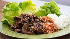 Beef Bulgogi (Adam Liaw) ~ Everyday Gourmet with Justine Schofield Beef Bulgogi Recipe, Beef Ribs, Roast Beef, Steak Recipes, Tasty Dishes, Meatloaf, Barbecue, Asian Recipes, Asian Style