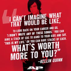 Kellin Quinn of Sleeping With Sirens (Interview from AP 320)