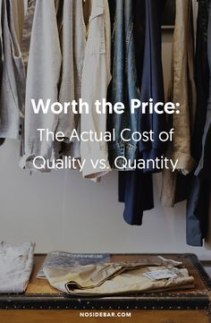 As consumers, we primarily view cost in terms of dollars and cents. But what are the hidden costs associated with a seemingly great deal or habitual purchase?