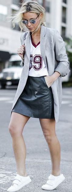 Neutrals Casual Sporty Fall Inspo #Happily Grey