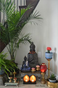 14 Amazing Living Room Designs Indian Style Interior and Decorating Ideas Buddha peaceful corner zen home decor niche corner stair niche corner interior styling zen decor Buddha decor Buddha love brass artifacts Indian home decor Buddha Home Decor, Zen Home Decor, Ethnic Home Decor, Indian Home Decor, Indian Decoration, Indian Home Interior, Indian Interiors, Home Interior Design, Interior Styling