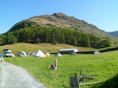 Borrowdale and Scarfell Pike, walking distance to two pubs - still there after all these years!