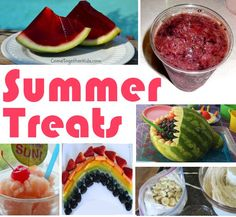 Summer Treats for the kids