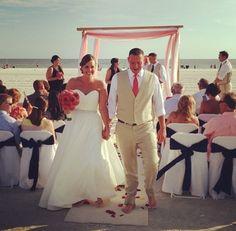 Siesta beach wedding