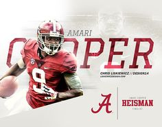 Alabama Football 2014 on Behance