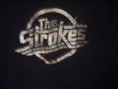 VTG The Strokes band t-shirt adult large black Julian Casablancas