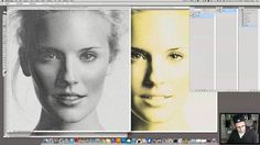 How to make halftone color separations for four color process printing in Adobe Photoshop Subscribe to Tom Ledin's Channel: http://www.youtube.com/subscripti...