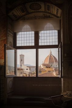 room with a view in Florence, Italy