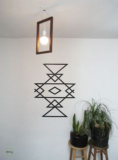 A 30 minutes wall art | Ohoh Blog - diy and crafts More
