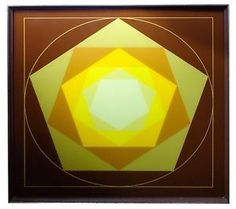 MINIMALIST GEOMETRIC VINTAGE ABSTRACT REVERSE SILKSCREEN ON GLASS, MID-CENT MOD  http://www.ebay.com/itm/252114546963?ssPageName=STRK:MESELX:IT&_trksid=p3984.m1555.l2649