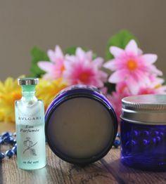 Como elaborar un  #perfume sólido, con tu fragancia favorita o con los aceites esenciales que desees.