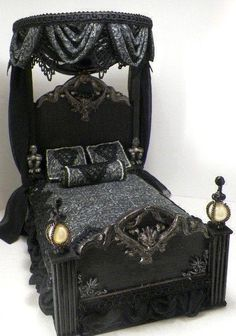 Love this gothic bed