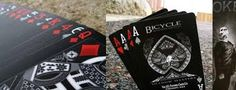 Bicycle Shadow Masters - Black Deck of Playing Cards Black Deck, White Deck, Bicycle Cards, Group Pictures, Deck Of Cards, Cool Cards, Playing Cards, My Love, Image