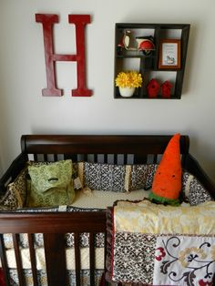 Red and Yellow Nursery