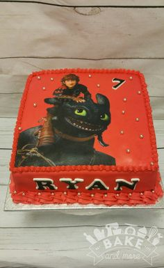 Dragon Birthday Cakes, Dragon Birthday Parties, Dragon Cakes, Dragon Party, 9th Birthday, Pikachu Coloring Page, Christening Themes, How To Train Your Dragon, Party Cakes