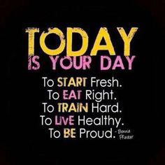 Today is your day quotes quote fitness workout motivation proud healthy exercise motivate fitness quote fitness quotes workout quote workout quotes exercise quotes train hard Quotes Fitness, Fitness Motivation, Daily Motivation, Weight Loss Motivation, Workout Quotes, Exercise Quotes, Daily Exercise, Healthy Exercise, Insanity Motivation